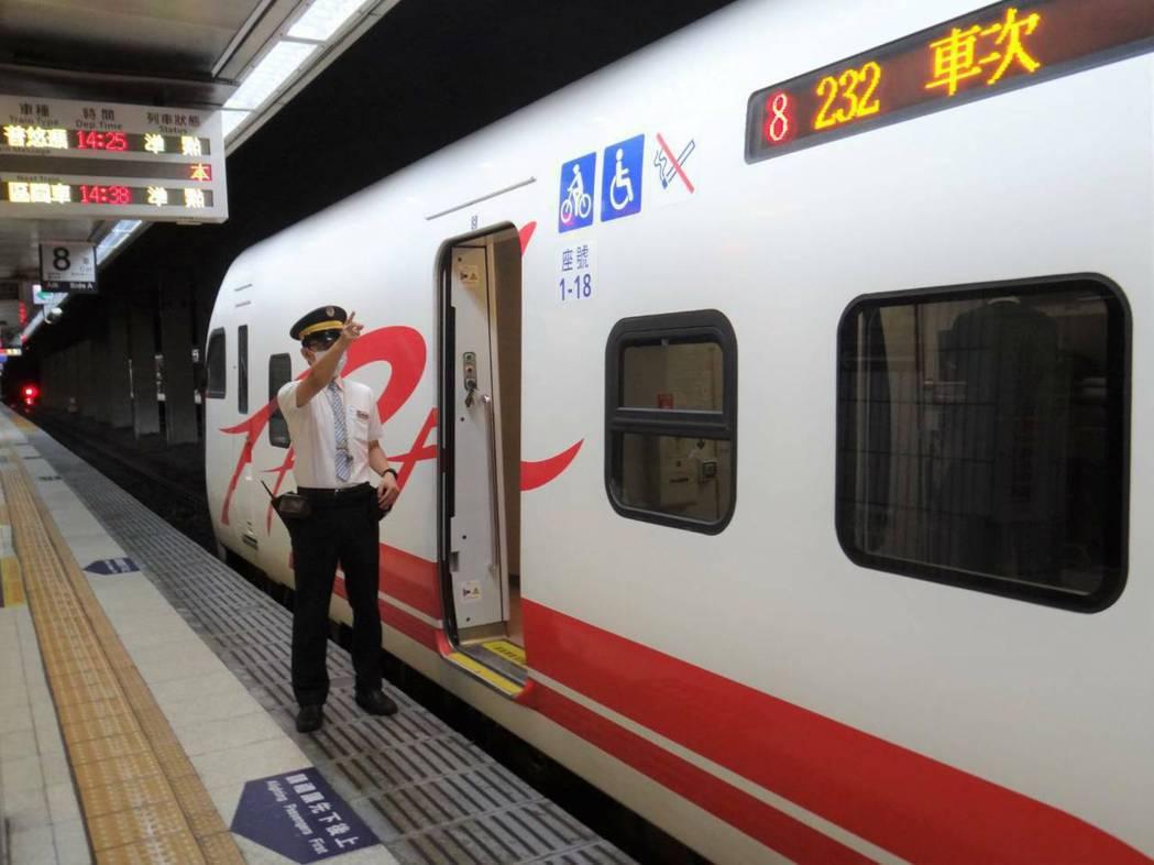 7月13日開始微解封,交通部台鐵局仍有防疫措施。  圖/台鐵局提供