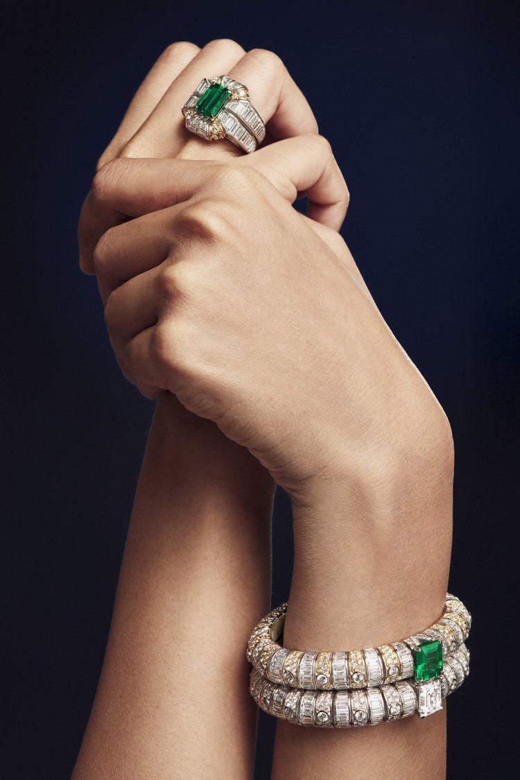 L' Aventure系列戒指、手鐲。圖/路易威登提供