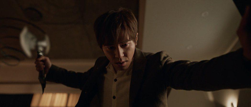 李奎炯飾演殺人不眨眼的大反派。圖/myVideo提供