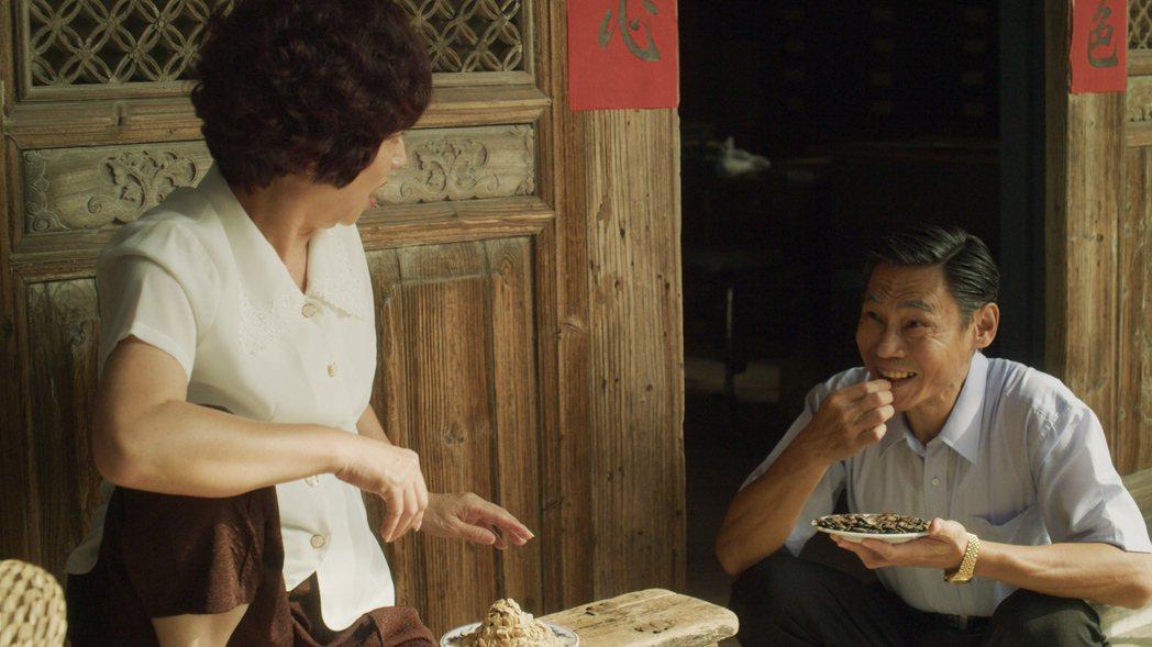 楊麗音(左)、夏靖庭在「俗女養成記2」中飾演夫妻。 圖/華視、CATCHPLAY...