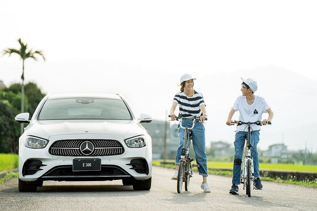 閱讀She's Mercedes故事,跟著攝影師Ivy探索人生角色變化。 圖/台...