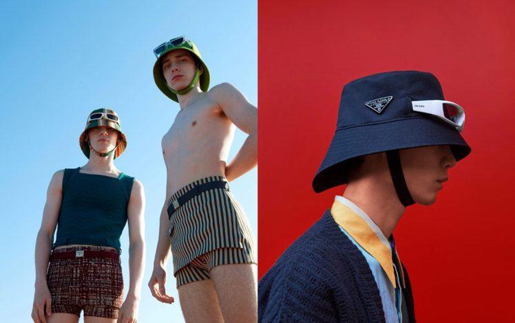 充滿驚喜的Prada 2022春夏系男裝系列。圖/微新聞提供