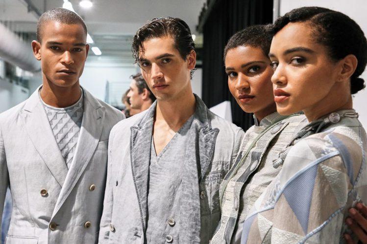 Giorgio Armani 2021春夏男女裝系列。圖/微新聞提供