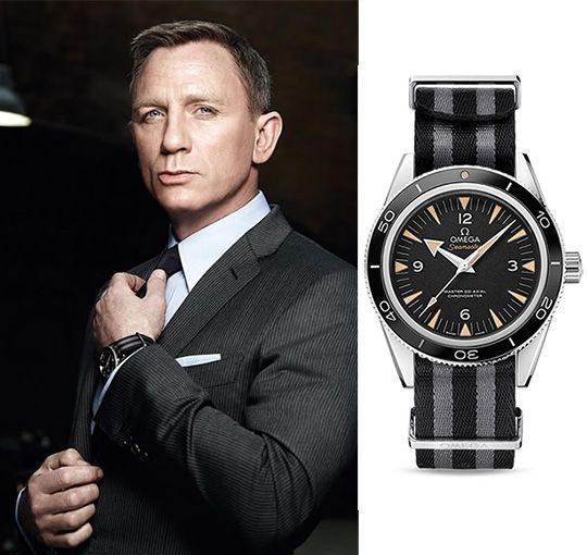 007系列電影主角詹姆斯龐德總會配戴OMEGA錶款。圖/微新聞提供 sourc...