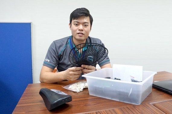 惠嘉電實業董事長林雍偉。 惠嘉電/提供