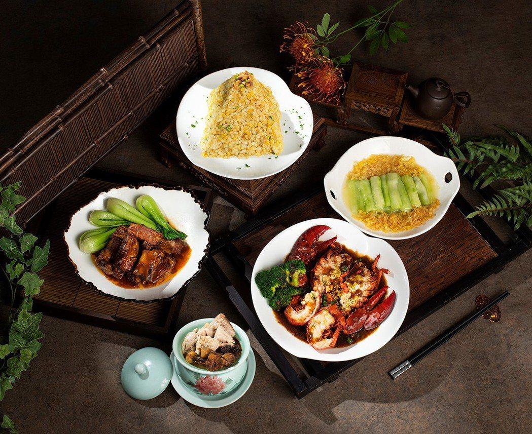 香格里拉台北遠東國際大飯店上海醉月樓闔家餐,每套2,680元。 業者/提供