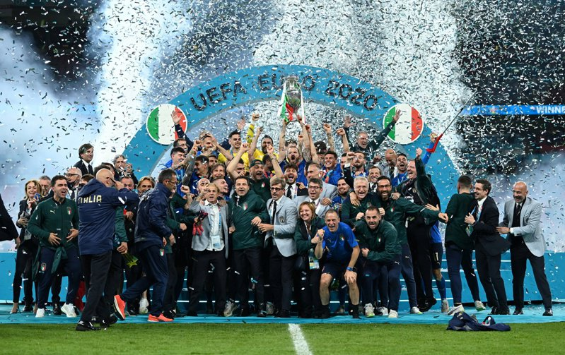 義大利二度稱霸歐國盃,上一回已經是1968年的事。 路透