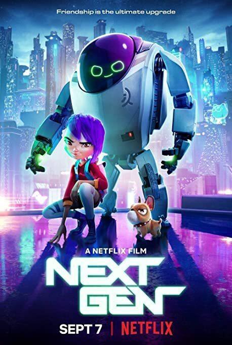 《未來世代》英文海報,Netflix已上架