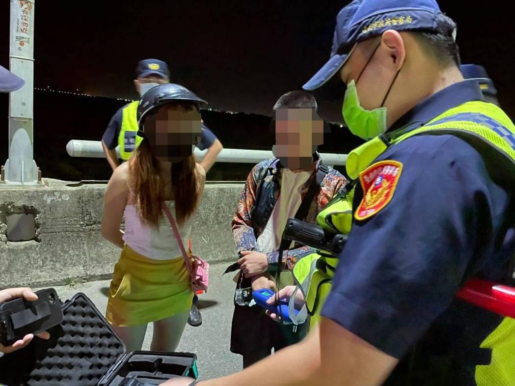 警方表示因為酒駕仍居高不下,將加強取締。記者周宗禎/翻攝