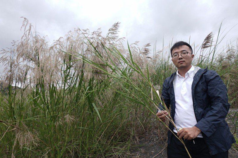 斜槓生活文化創辦人張震宇從台北移居到花蓮,努力打造濱溪植物產業鏈。圖/聯合報系資料照片