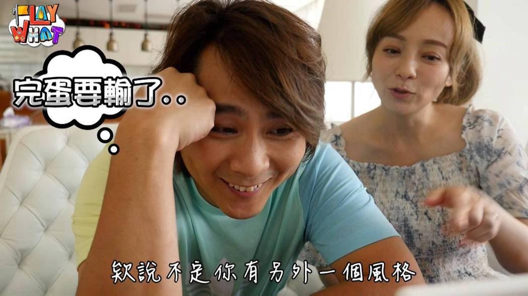 王仁甫(左)和季芹互動頗受網友歡迎。圖/樂心娛樂工作室提供