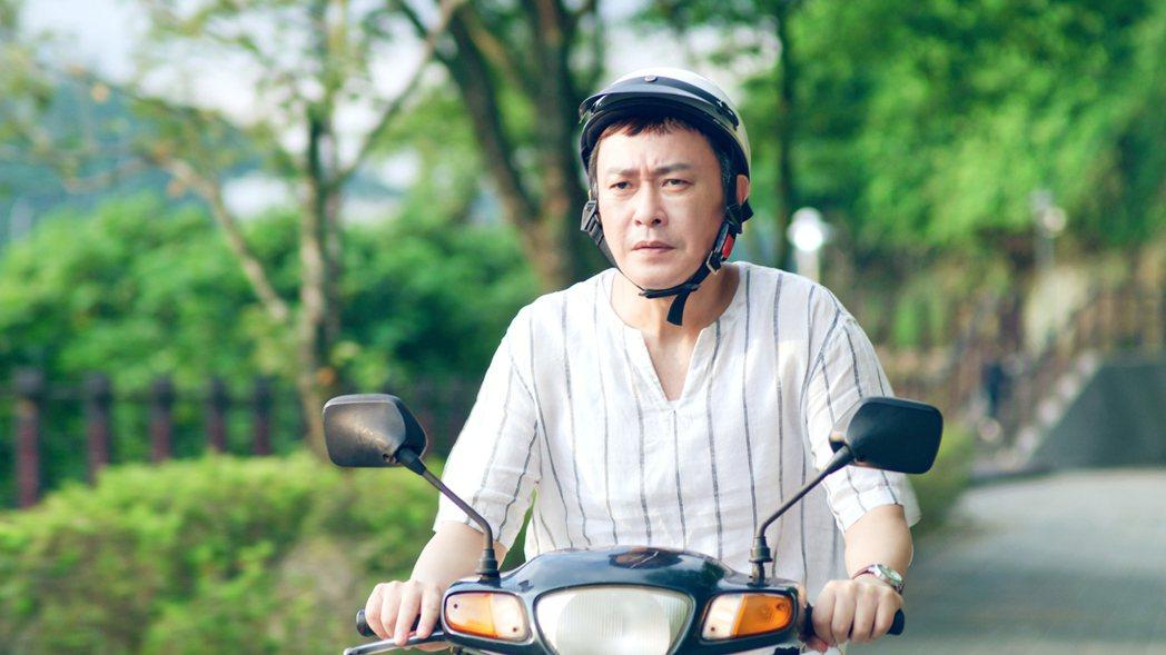 王識賢在「神之鄉」戲中,在飆罵飾演兒子李玉璽後心裡很糾結。圖/東森、映畫提供