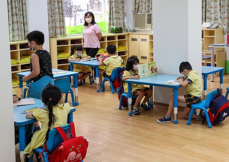 圖為幼兒園示意圖。報系資料照/記者葉信菉攝影
