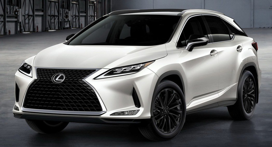 LEXUS針對美國市場推出七人座的RX L的限量Black Line Limit...