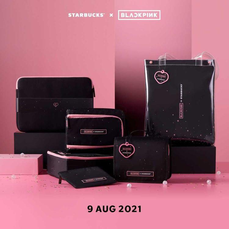 韓國天團Blackpink和泰國星巴克推出SPARK IN YOU聯名系列產品。...