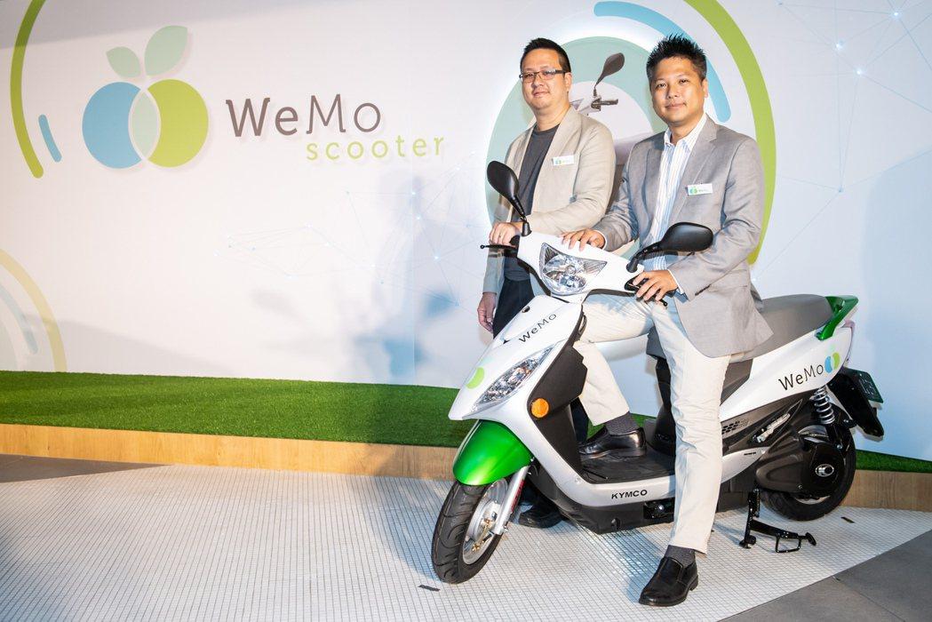 「做你所驕傲的社會創新」這是WeMo的企業文化,也是創辦人吳昕霈(右一)的堅持信...