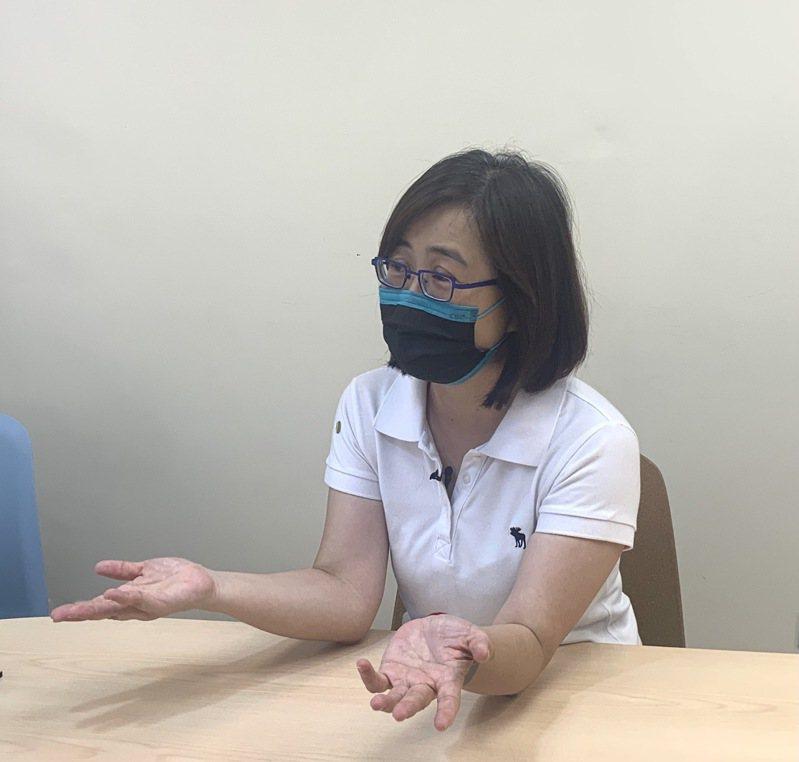 國民黨立委林奕華建議蔡政府,參照亞太經合會(APEC)模式,任命台積電或鴻海為疫苗採購特任代表。圖/林奕華辦公室提供