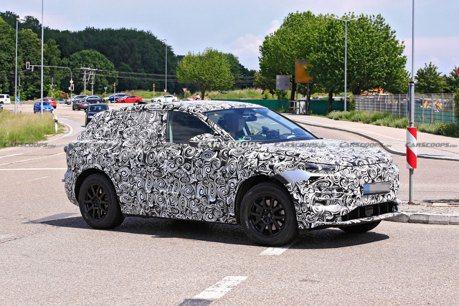Audi Q6 e-tron偽裝車再度現身 據傳零百加速只需不到4秒!
