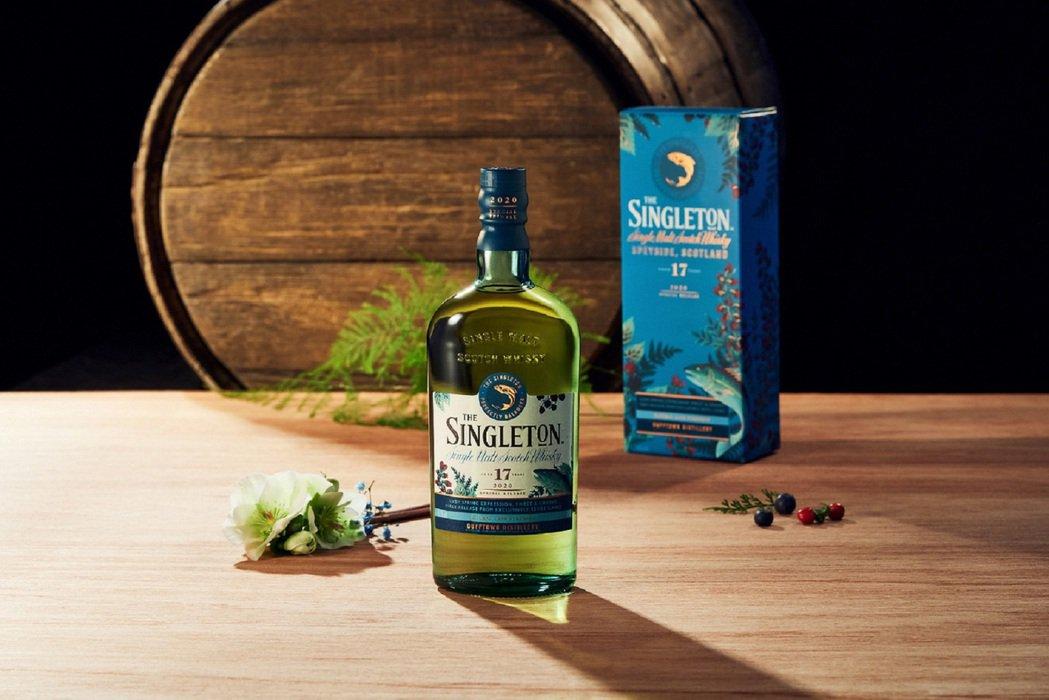 蘇格登17年單一麥芽威士忌原酒,容量:700ml,酒精濃度:55.1%,建議售價...