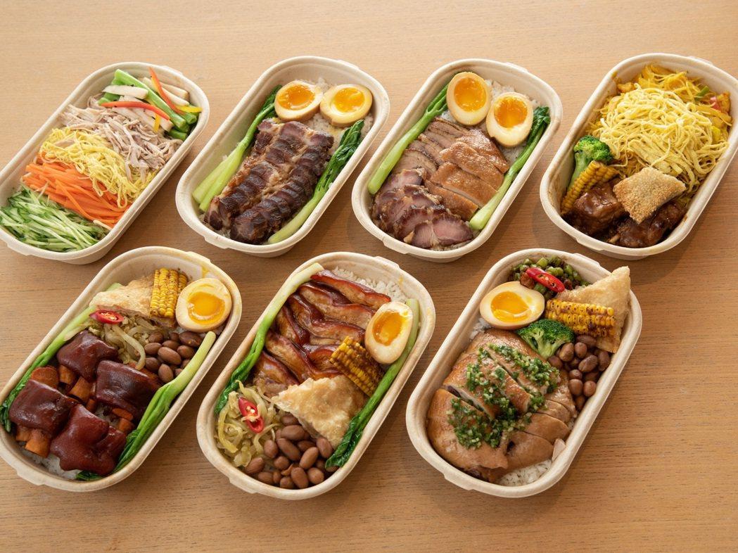 桃花林中華料理推出三百元以下超值之選、均附例湯,「銷魂叉燒飯」NT$220起,即...