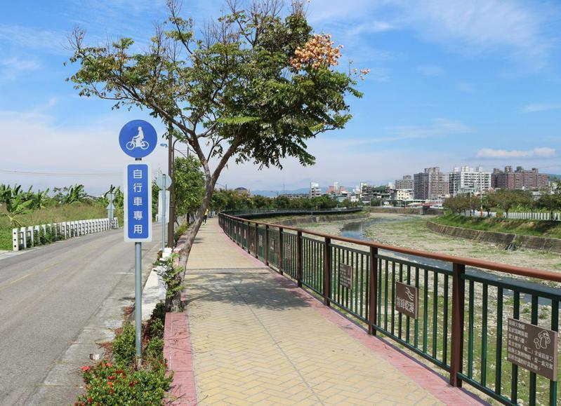乾溪自行車道;圖片來源/台中市霧峰區公所提供