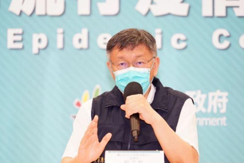 從疫苗配發「政治內線交易」到環南市場「設局」,台北市長柯文哲連番槓上中央政府。圖/北市府提供