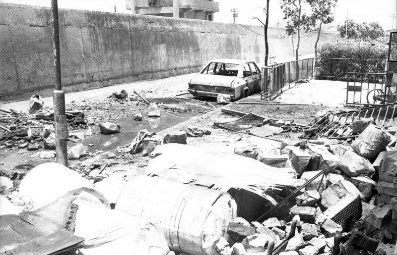 1979年7月13日,台北市撫遠街深夜發生爆炸,引起火災,造成33人喪生,44人受輕傷。圖/聯合報系資料照片