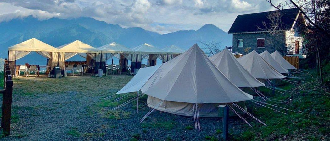 裝備露營體驗與「南投朵娜朵露營區Donato Glamping」、「苗栗黃金梯田...