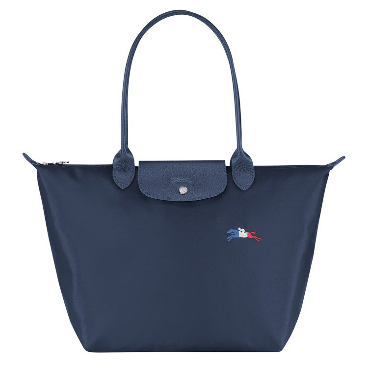 Le Pliage®TRÈS PARIS系列肩揹袋(L,正面),6,400元。圖...