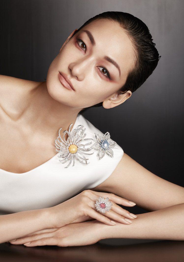 日籍超模富永愛(Ai Tominaga)也為本次MIKIMOTO高級珠寶的發表,...