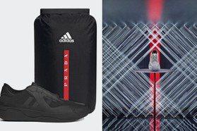 輕巧又帥氣 PRADA x Adidas運動鞋全新灰、黑色登場