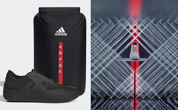 PRADA和Adidas聯名系列推出灰、黑款A+P LUNA ROSSA 21運...