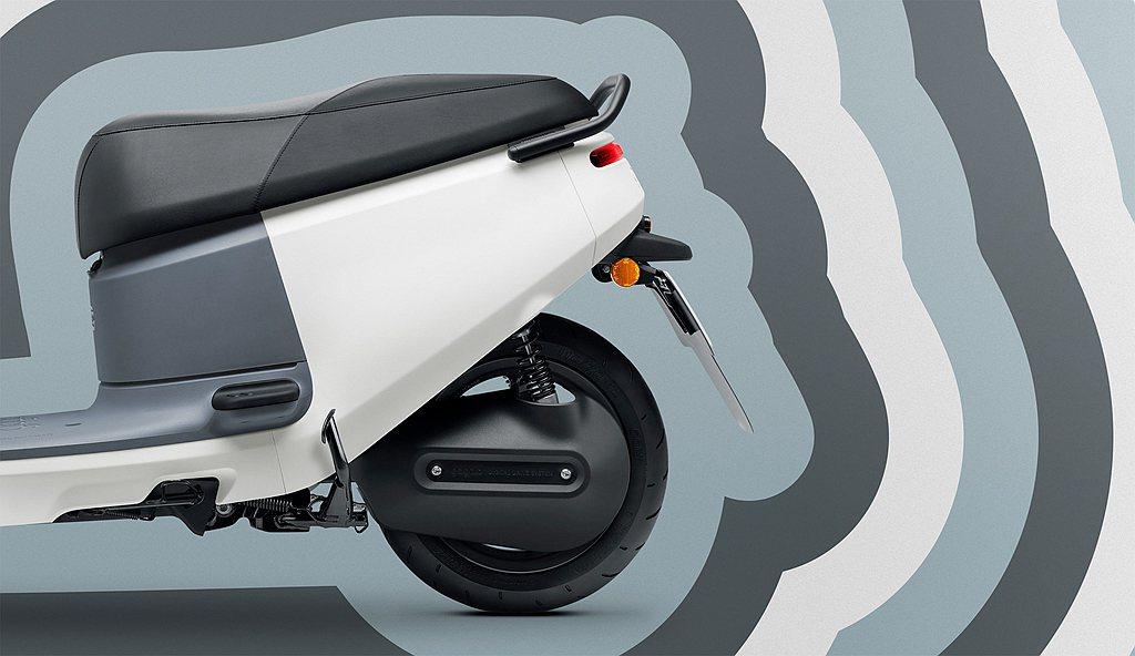 Gogoro VIVA XL動力使用新款6.4kW G2.2L鋁合金水冷永磁同步...