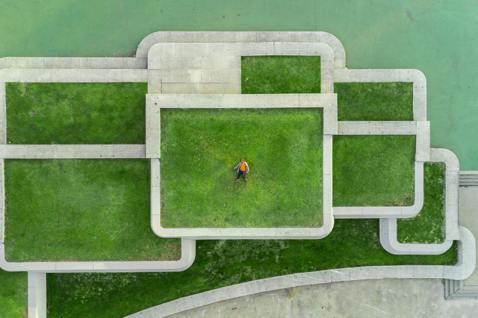 圖為加拿大的屋頂植栽。 圖/unsplash