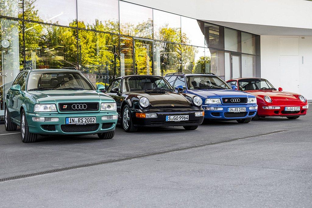 Audi Avant RS2曾是世界上最快的旅行車,同時也是Audi第一輛突破時...