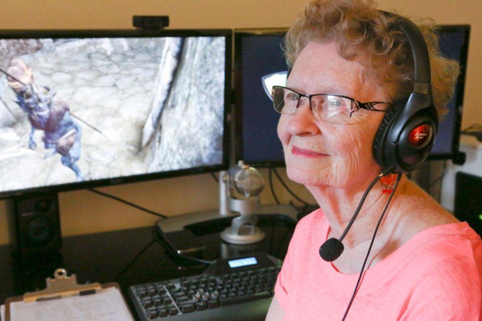 「奶奶玩家」之四:人見人愛的雪莉