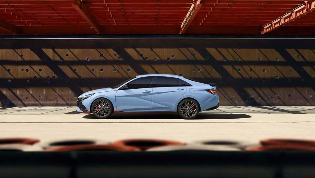 全新Hyundai Avante/Elantra N因為升格為性能車的緣故而有所...