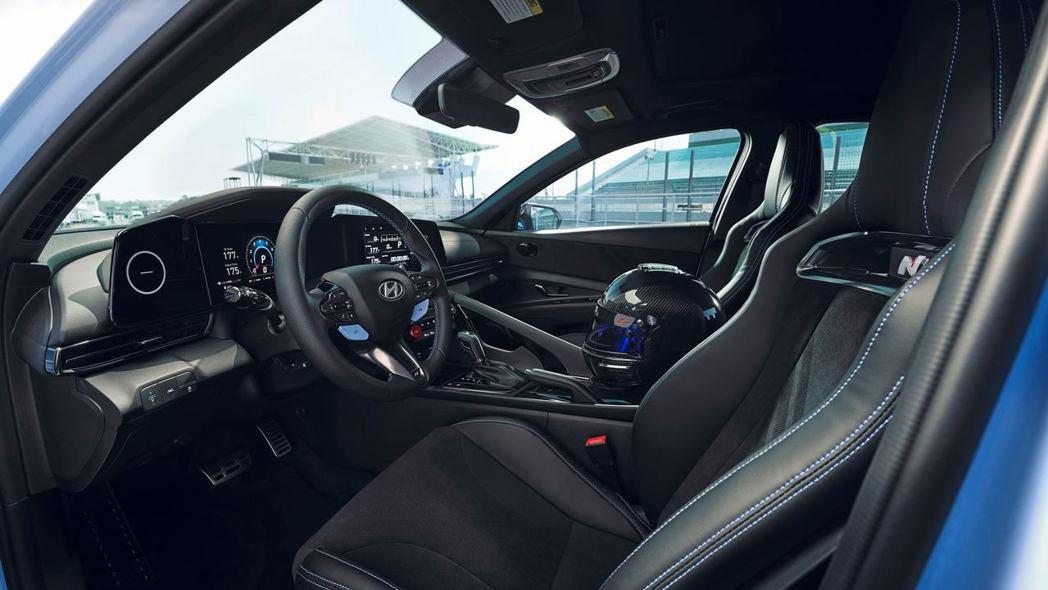 全新Hyundai Avante/Elantra N車室。 摘自Hyundai