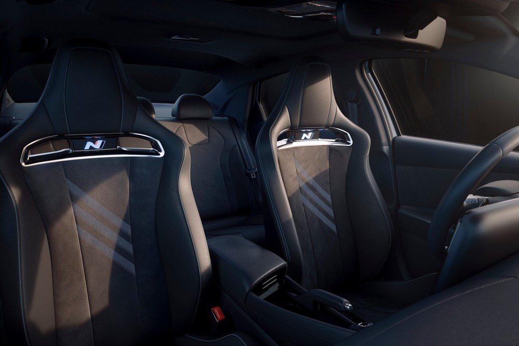 全新Hyundai Avante/Elantra N配置N系列專屬的桶型運動化座...