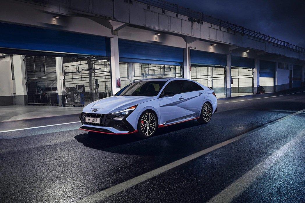 全新Hyundai Avante/Elantra N搭載2.0升T-GDi直列四...