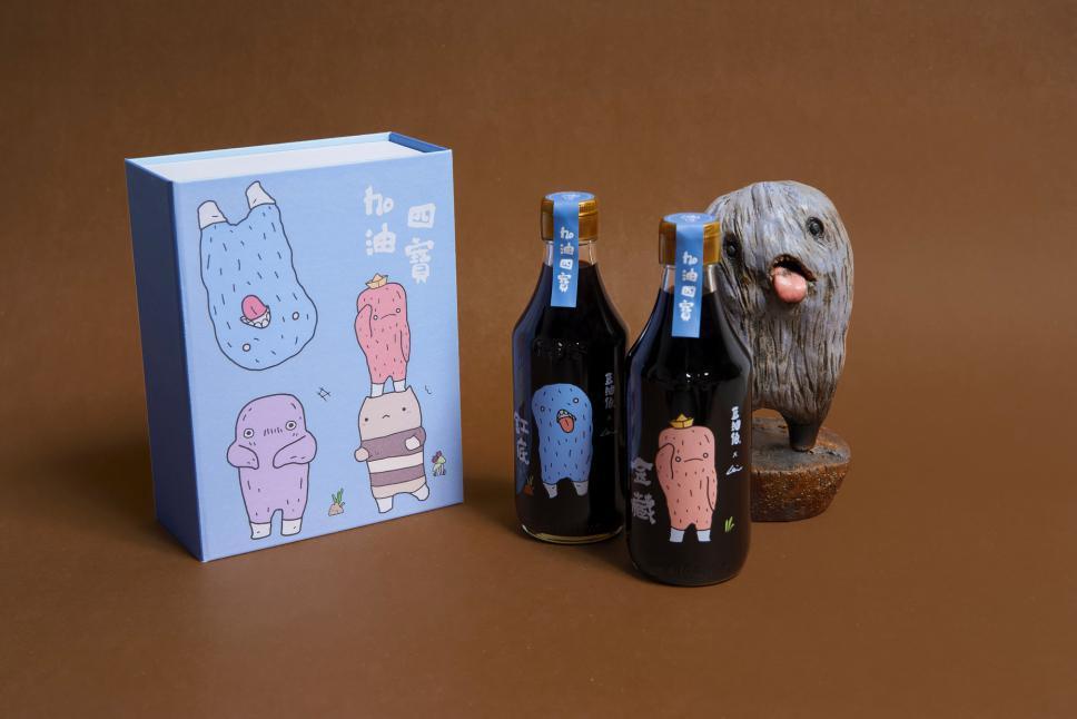 《金藏》醬油,於07/15上市,並與台灣當代藝術家阿咧(A-Lei)跨界合作,推...