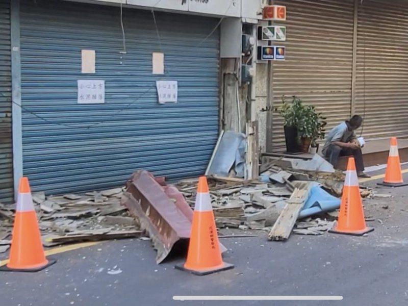 據中央氣象局資訊,花蓮今(14日)累計逾30起有感地震。民眾一早被震醒後,餘震不斷,震得頭暈,直呼快受不了。中央社(民眾提供)