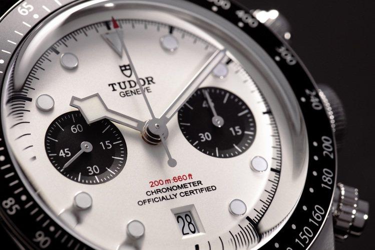 白色面盤、黑色次表圈的配色,在手表愛好者口中又有「熊貓」的趣稱。圖 / TUDO...