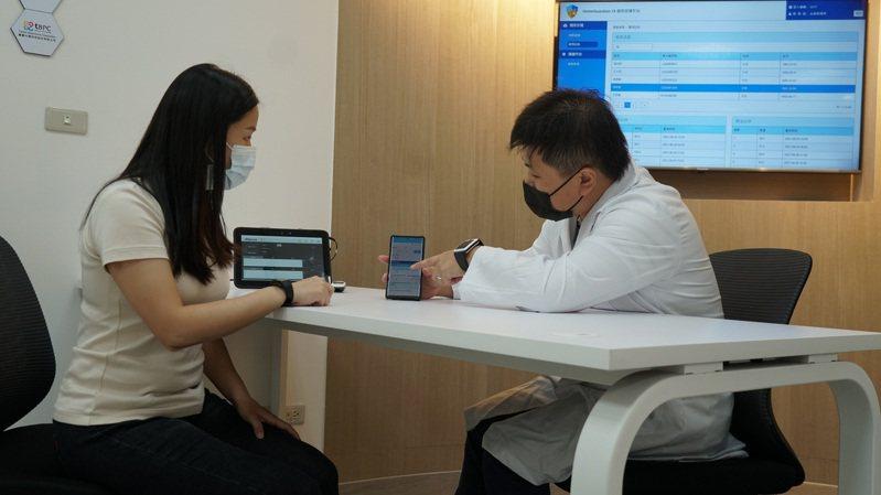 工研院跨域協同台醫光電、蓋德科技、必事可、生訊、天樞健康、中華電信等業者,攜手與新竹台大分院共同建置「生理訊號即時監測整合平台」。圖/工研院提供