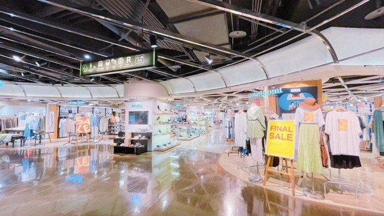 京站透過全館400多家櫃位成立自己的LINE@社群,推出「預約線上導覽」服務。圖...