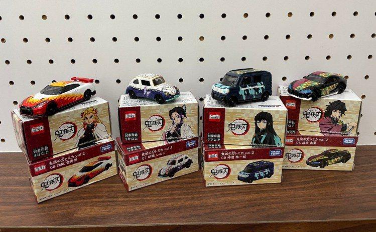 萊爾富7月21日起超商獨家推出與日本同步上市的4款限量「鬼滅之刃小汽車」第2彈。...