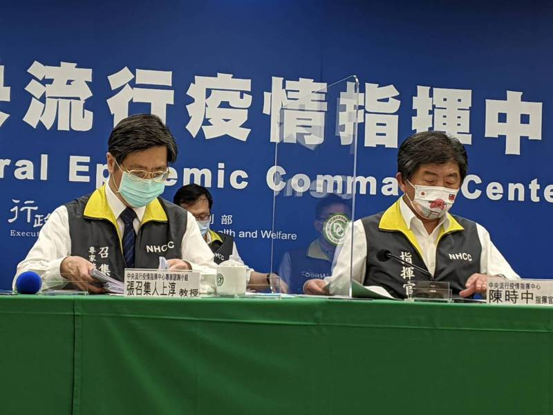指揮官陳時中(右)。記者謝承恩/攝影
