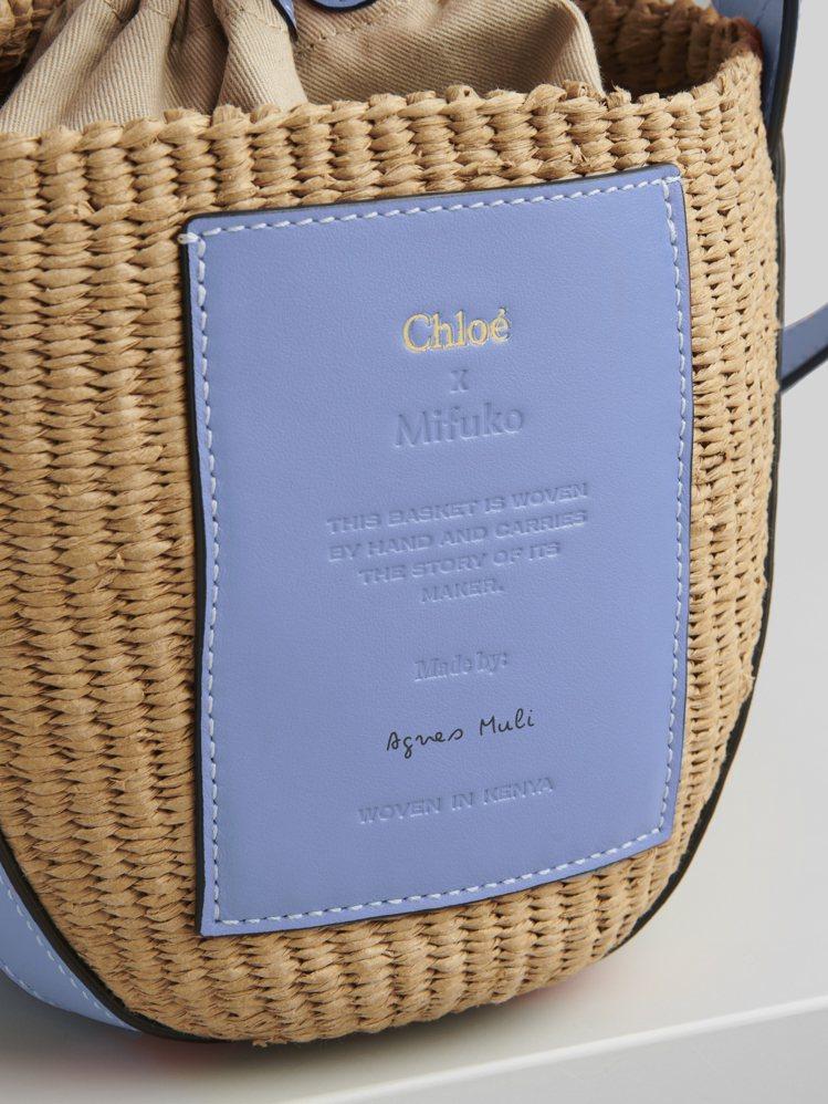 Basket系列提籃各自附有該編織工匠簽名的皮革標籤,讓工匠與使用者間有更深刻的...