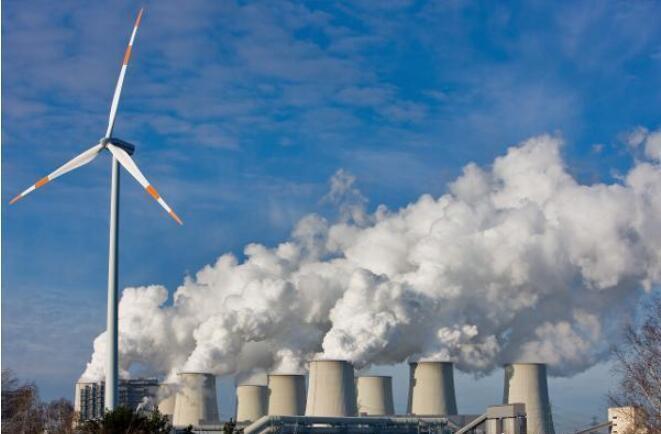 中國大陸全國碳市場上線交易很快啟動,將發電業作為首個納入碳市場的行業。照片/新浪網