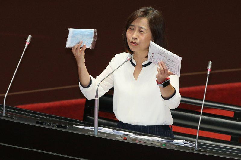 國民黨立委林奕華。圖/聯合報系資料照片